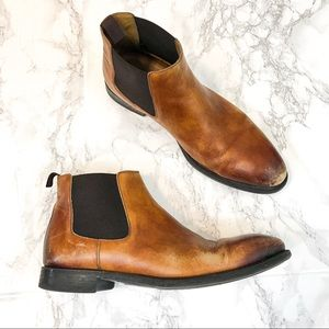 MAGNANNI Men's Leather Foster Chelsea Boot